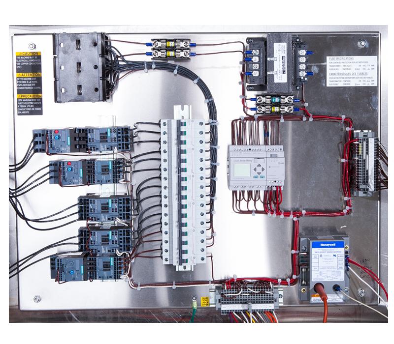 RW1548 Control Panel